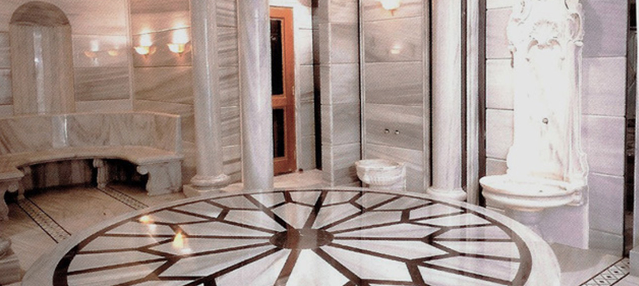 Titiz Granite & Marble - Savarona Turkish Bath: The MV Savarona