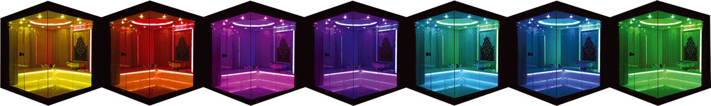 Modüler Türk Hamamı - Işık Terapi Sistemi