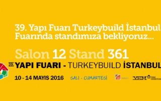 Titiz Granit & Mermer - 39. Yapı Fuarı Turkeybuild İstanbul Davetiye